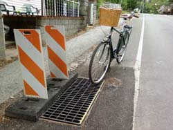 Cycle Trap Fixed :: New and improved drain gate as installed