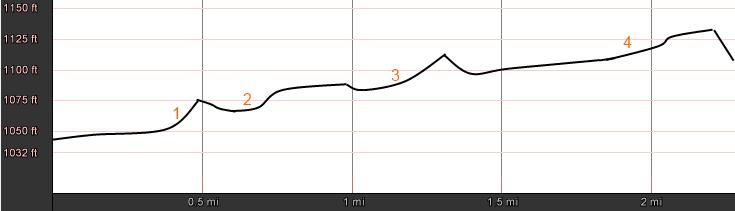 Linden Loop -- lower loop profile