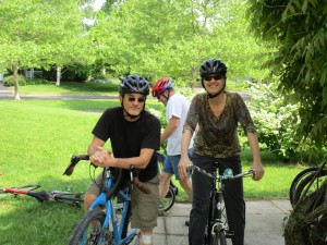 Barsoms at Family Bike Ride 2015