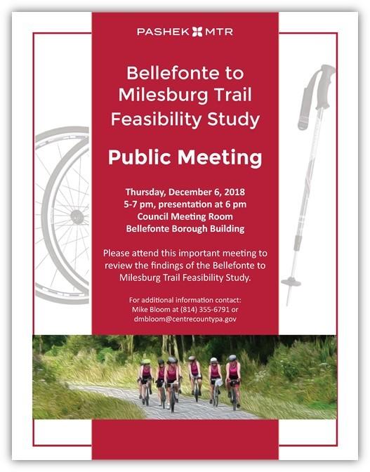 December 6, 5-7pm Bellefonte Borough Bldg