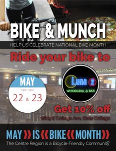 Bike and Munch Luna 2 Woodgrill & Bar @ Luna 2 Woodgrill & Bar