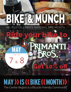 Bike and Munch Primanti Bros. @ Primanti Bros.  | State College | Pennsylvania | United States