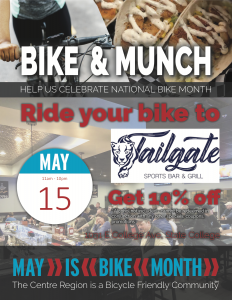 Bike and Munch Tailgate @ Tailgate | State College | Pennsylvania | United States