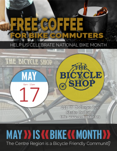 Commuter Coffee @ The Bicycle Shop  | State College | Pennsylvania | United States