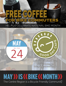 Commuter Coffee @ Good Day Cafe  | State College | Pennsylvania | United States