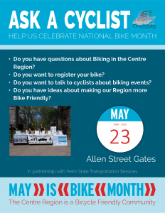 Ask A Cyclist @ Allen Street Gates | State College | Pennsylvania | United States