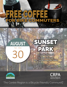 Fall Commuter Coffee @ Sunset Park | State College | Pennsylvania | United States