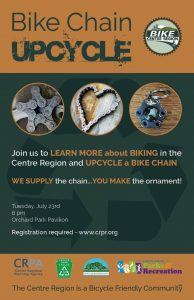 Bike Chain Upcycle Event @ Orchard Park Pavilion | State College | Pennsylvania | United States