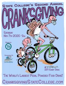 State College's Second Annual Cranksgiving @ Videon Central | State College | Pennsylvania | United States